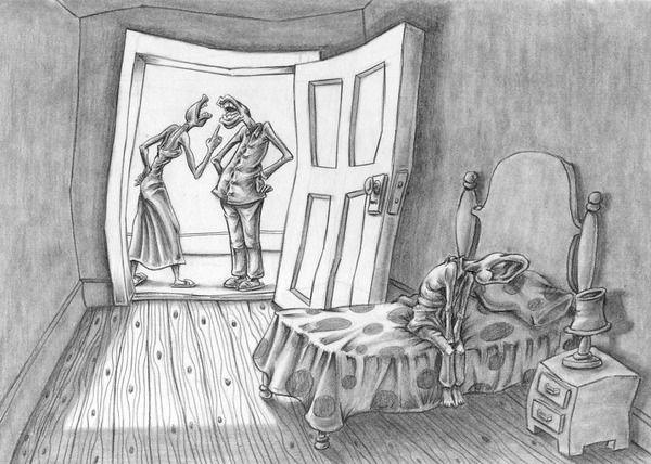 【恐怖】「私達の社会には欠陥がある」 イラストレーターの風刺画が恐ろしすぎる 前編