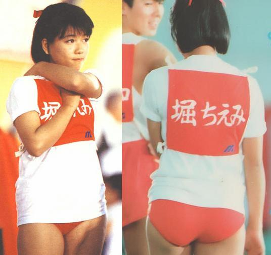 【画像】80年代アイドルのブルマ姿wwwwwwwwwwwwwwwww