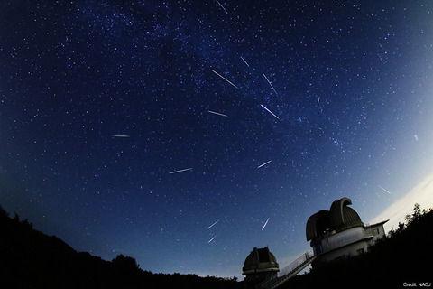 【天体ショー】今夜はペルセウス座流星群を見よう!