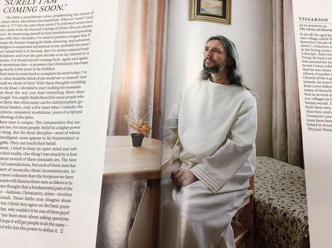 又吉イエス、自称キリストとして世界デビューwwwwwww