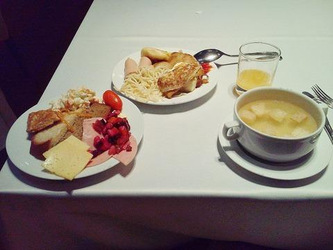 ロシア朝食