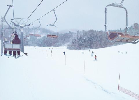 市営スキー場リフト