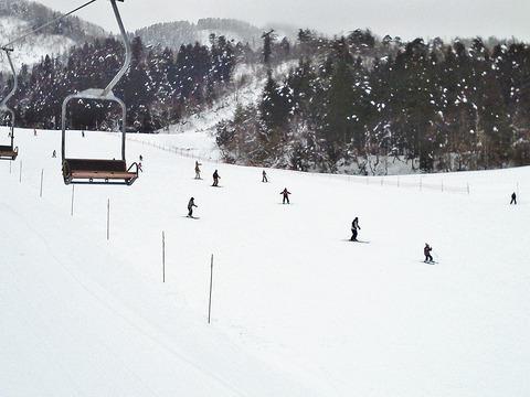 市営スキー場初級