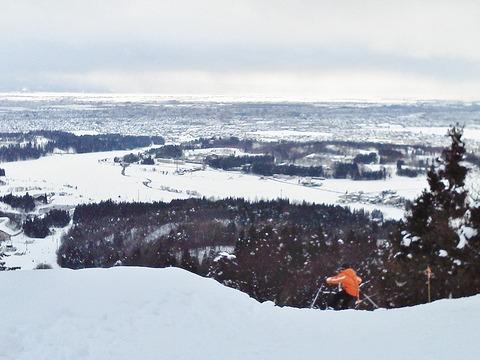 市営スキー場頂上2