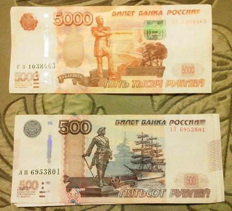 ロシア・紙幣