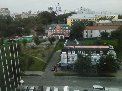 ロシア・ホテル窓外白夜1