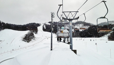 市営スキー場リフト2