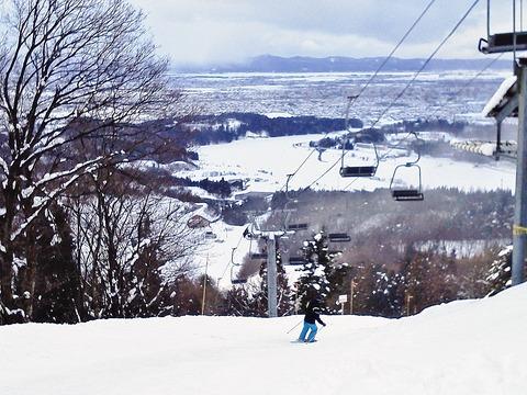 市営スキー場頂上1