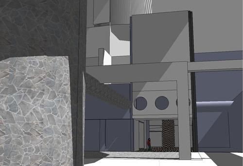 人形都市の遺跡保管施設の内部2