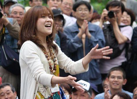 あさみちゆき・第139回井の頭公園ライブ3