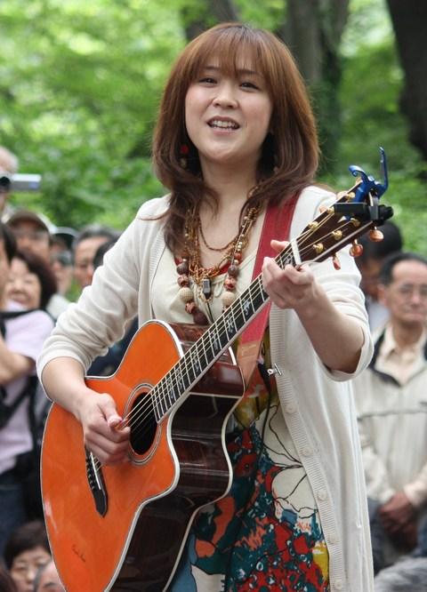 あさみちゆき・第139回井の頭公園ライブ1