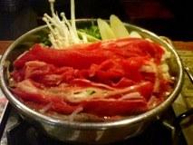 養老の瀧・牛鍋