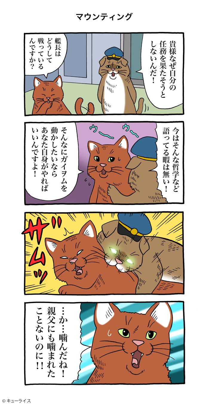 ネコ艦長 マウンティング のコピー