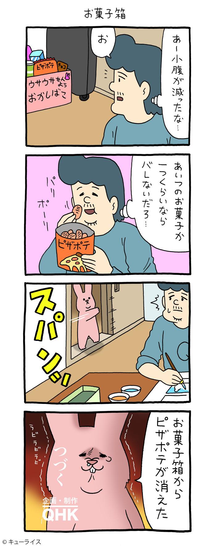 スキウサギ ピザポテ お菓子箱ー1 のコピー