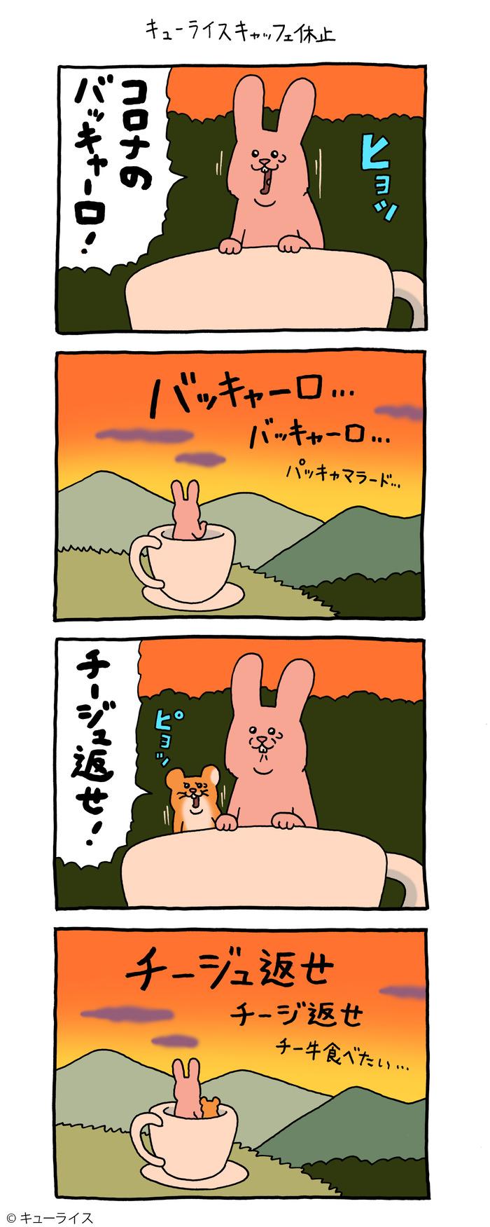 スキウサギ キューライスーライスキャッフェ中止 のコピー