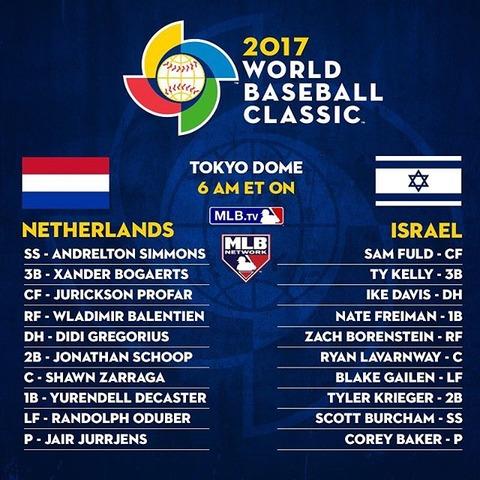 オランダvsイスラエル
