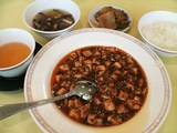 四川飯店の麻婆豆腐