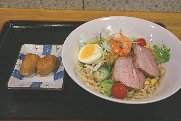 12一口いなりとサラダ麺IMG_4960