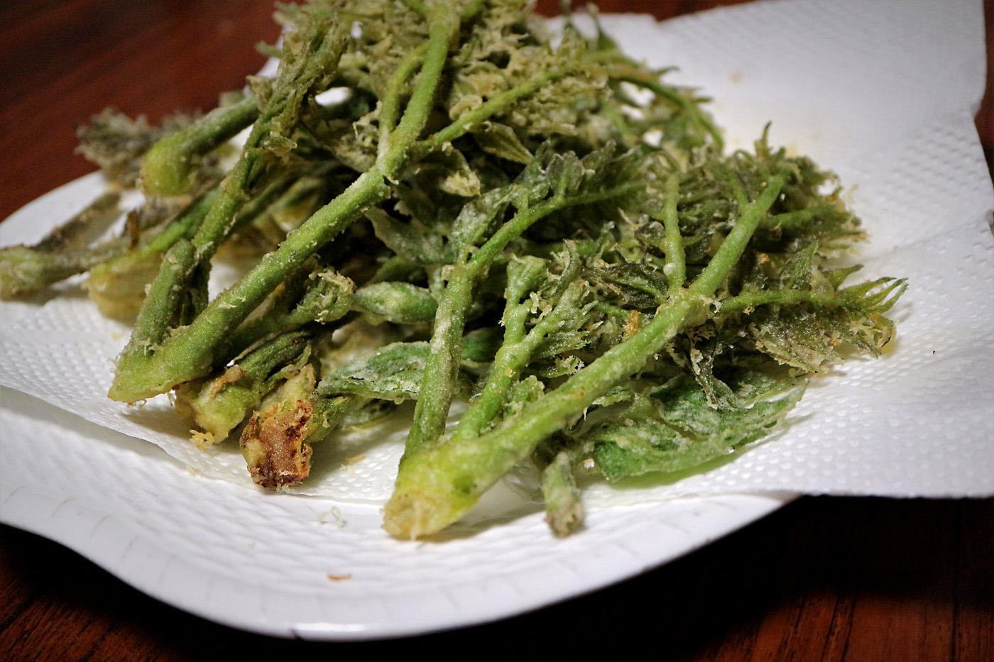 芽 天ぷら の タラ