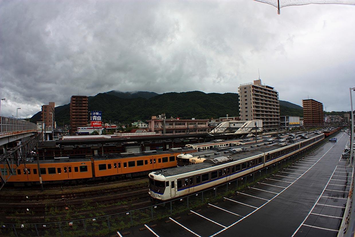 呉のメバル師:広駅 台風12号のた...
