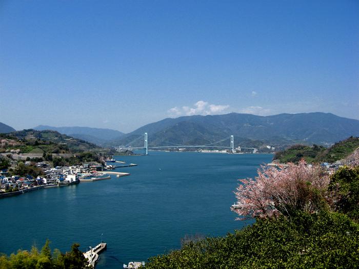 安芸灘大橋の風景