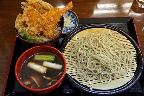 12鴨南セイロ・ミニ天丼セットIMG_4943