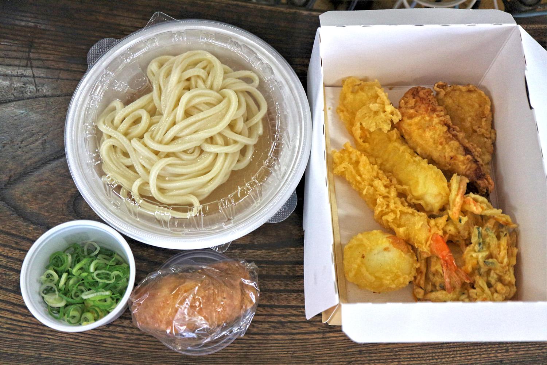 麺 テイクアウト セット 丸亀 製