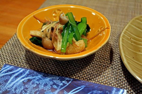 12小松菜のおひたしIMG_1292
