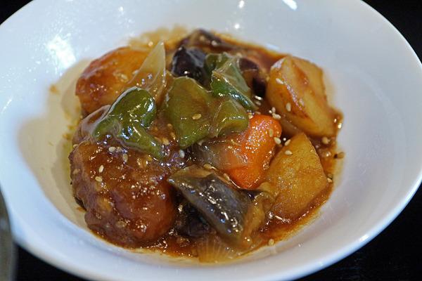 12鶏と野菜のあんかけIMG_0845