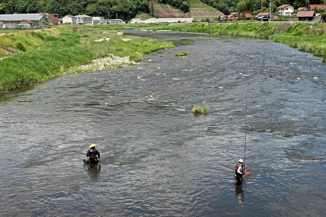 12鮎釣りの風景�IMG_5488