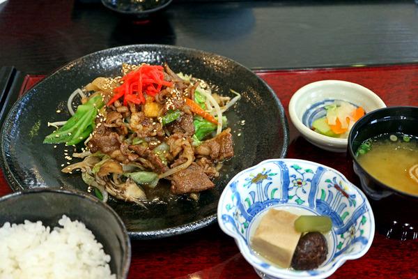 12舞茸焼肉定食IMG_3505