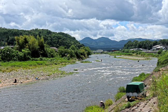 12鮎釣りの風景IMG_5482