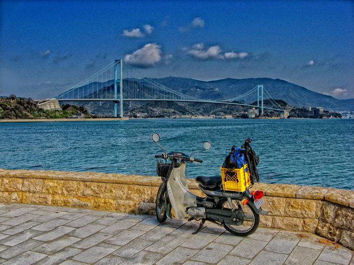 安芸灘大橋とヤマハメイト