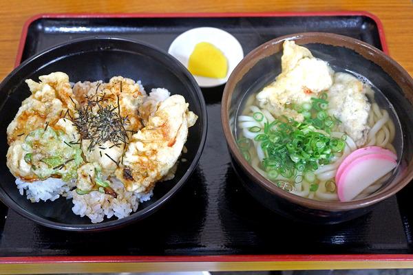 12カキ天丼とカキ天うどんIMG_3009