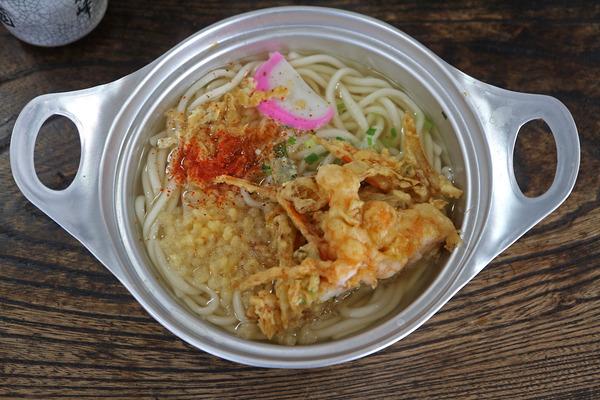 15鍋焼き天ぷらうどんIMG_9594