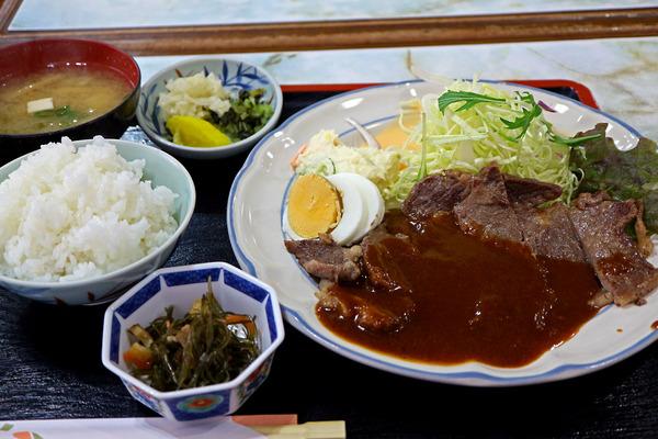 12牛ステーキ定食IMG_4226