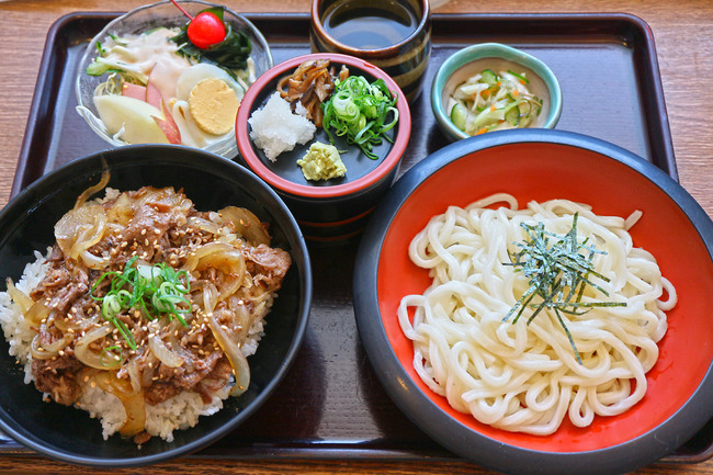 12焼肉丼セットIMG_5411