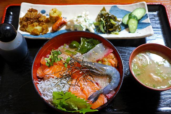 12海鮮丼定食IMG_5587