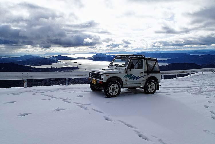 75灰ヶ峰頂上から呉方面を望むP2080151