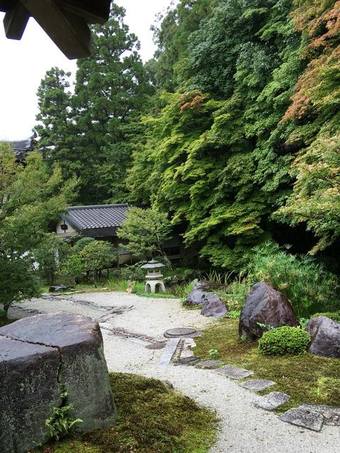 京都の庭園風景