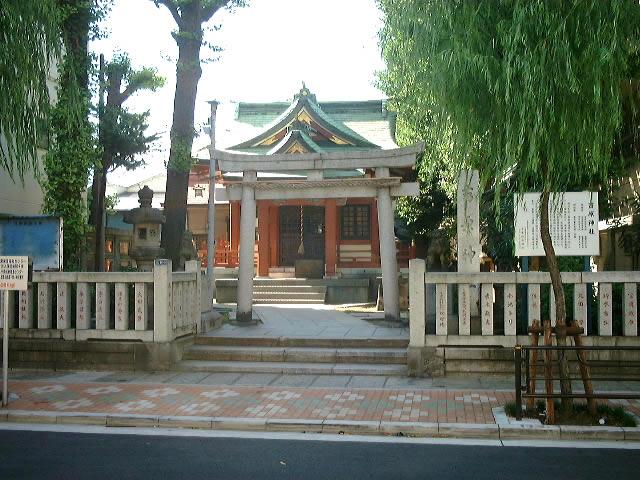 吉原神社の外観画像