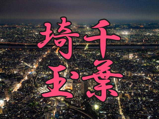 千葉と埼玉の夜景