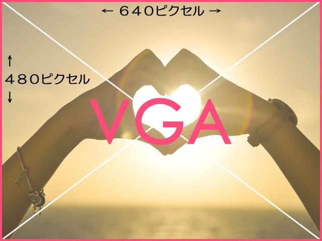 VGAサイズ画像の見本