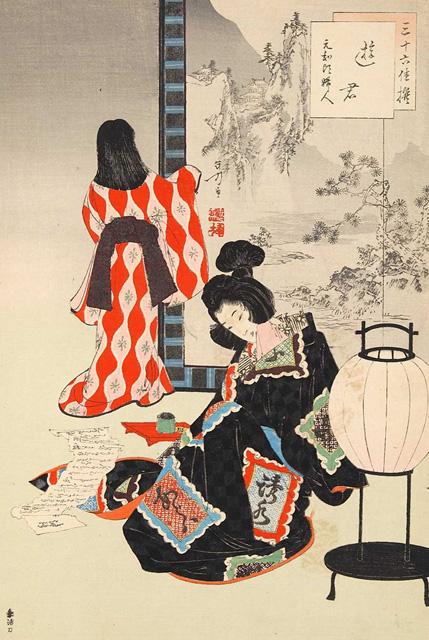 吉原遊郭の春画
