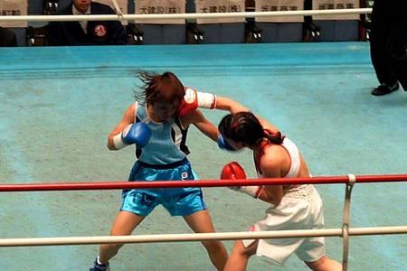 野口智代 vs 上田千穂-2