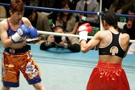 猪�かずみ vs 藤岡奈穂子