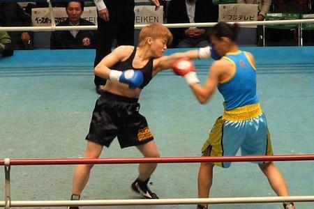 山口直子 vs オーンナッチ・ゴーギアットジム