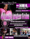 ALL FEMALE AMATEUR BOXING