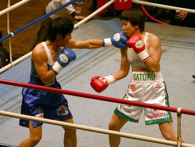 上村里子 vs 菊川未紀 3