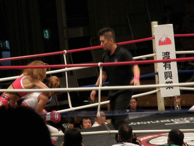 富田美里対藤井惠1ラウンド